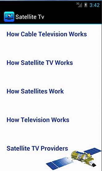 Amazon com: Satellite TV: Appstore for Android