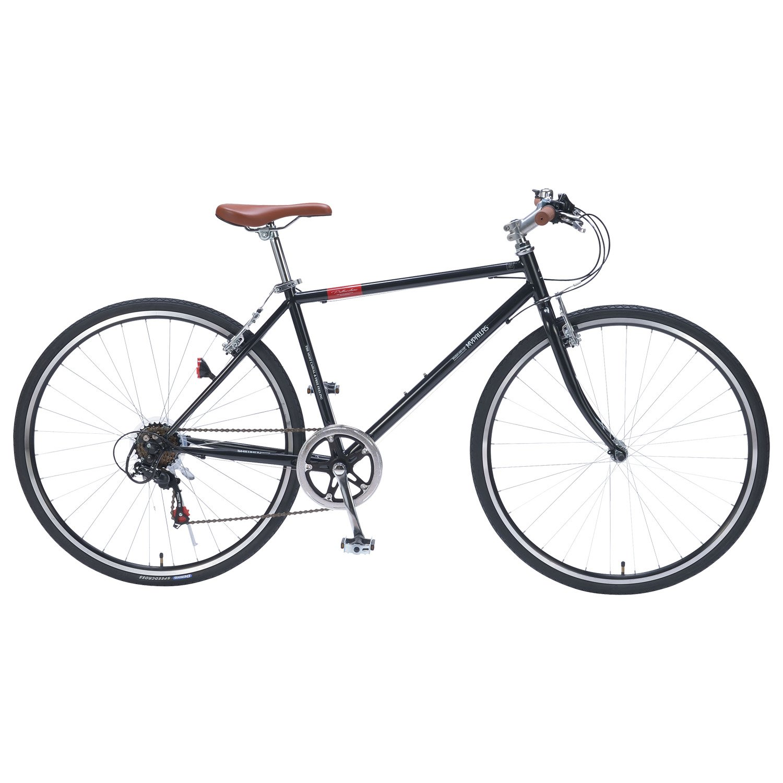 My Pallas(マイパラス) M-604 クロスバイク700C 6段ギア ブラック M604 ブラック B06WXX611C