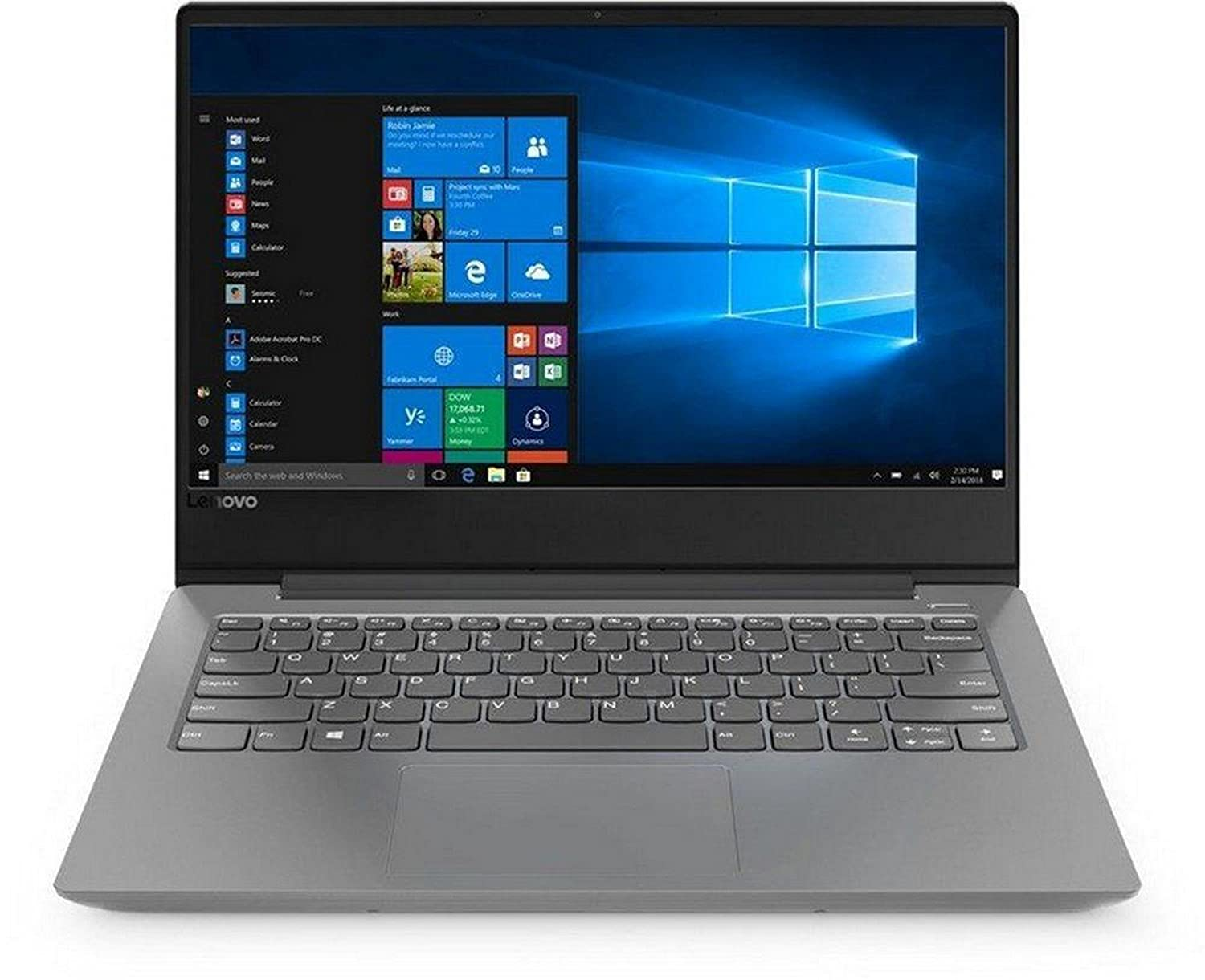 Lenovo Ideapad 330S AMD A9 14-inch Thin and Light Laptop (4GB/1TB HDD/Windows 10 Home/Platinum Grey/ 1.6kg), 81F8001GIN at  ₹  24,990.00  Amazon