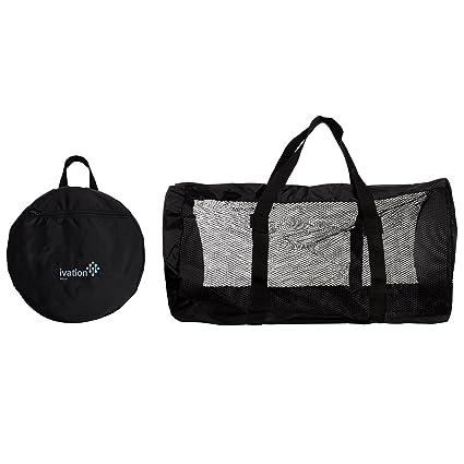 14e273cf27 Amazon.com   Ivation Dive Bag - Foldable Duffel Dive Bag - Compact ...