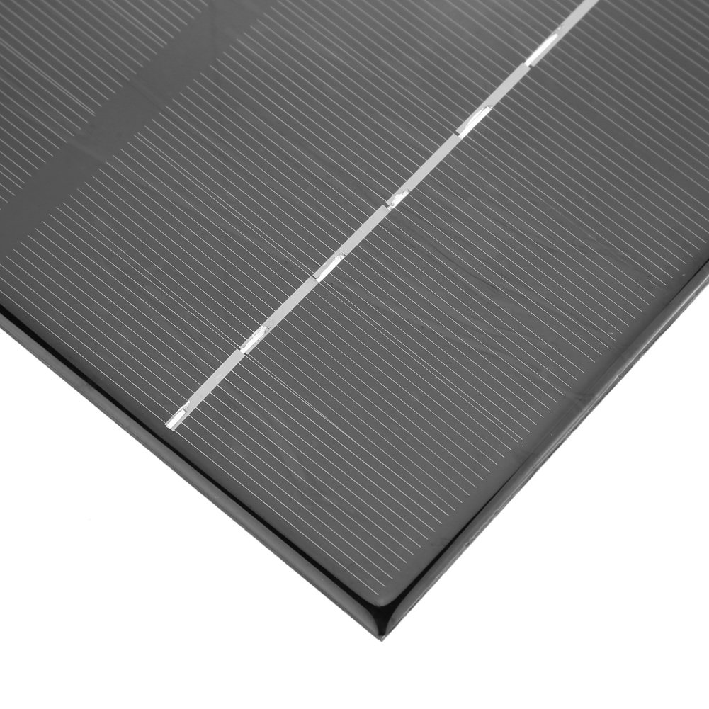 6W 12V Monocrystalline Silicon Solar Panel Mini Portable Solar Panel DC Charger DIY Sun Power Solar Module Charger 200 170mm
