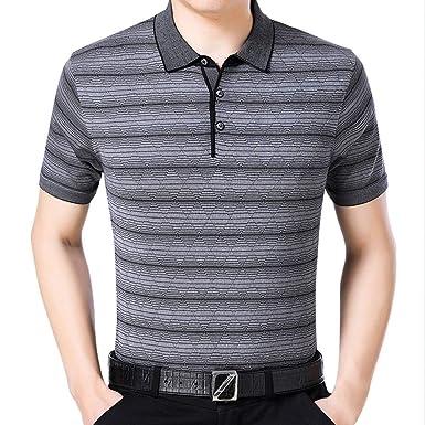 BOLAWOO Camiseta De Polo De Hombre Camiseta Casual Tops Mode De ...