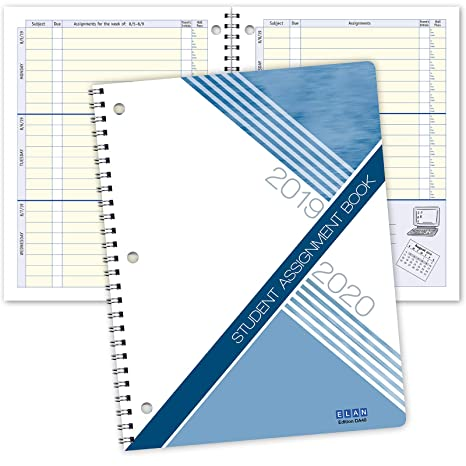 Dated Student Planner: for Middle or High School August - June Dated for 2019-2020 Academic Year (DA40)
