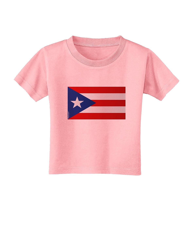 TooLoud Puerto Rico Flag Toddler T-Shirt