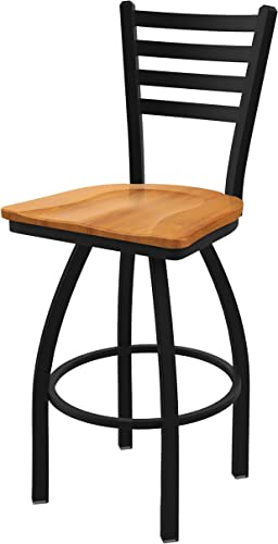 Holland Bar Stool Co. 41030BWMedMpl 410 Jackie Swivel Bar Stool, 30 Seat Height, Medium Maple