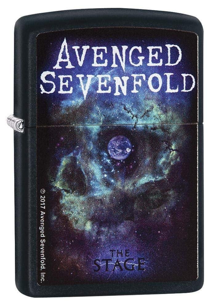 Zippo 29706 Avenged Sevenfold Black Matte Lighter