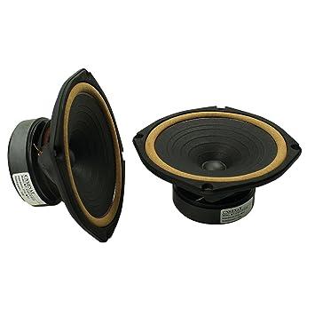 Cnsznat 6 5 inch Full-Range Speakers 8 Ohm HiFi Speakers