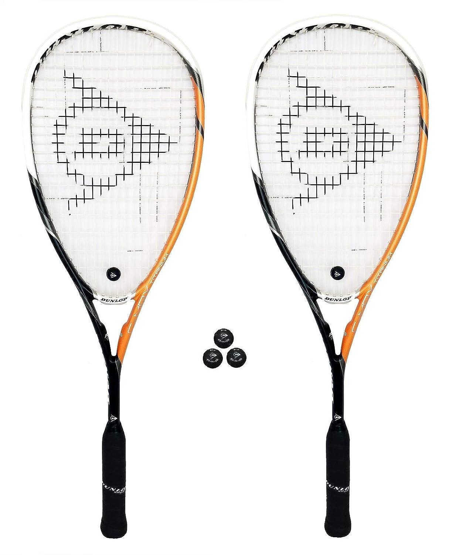 Dunlop C-Max Squash Rackets Ultimate and Titanium