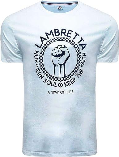 Lambretta Northern Soul Keep The Faith - Camiseta para Hombre ...