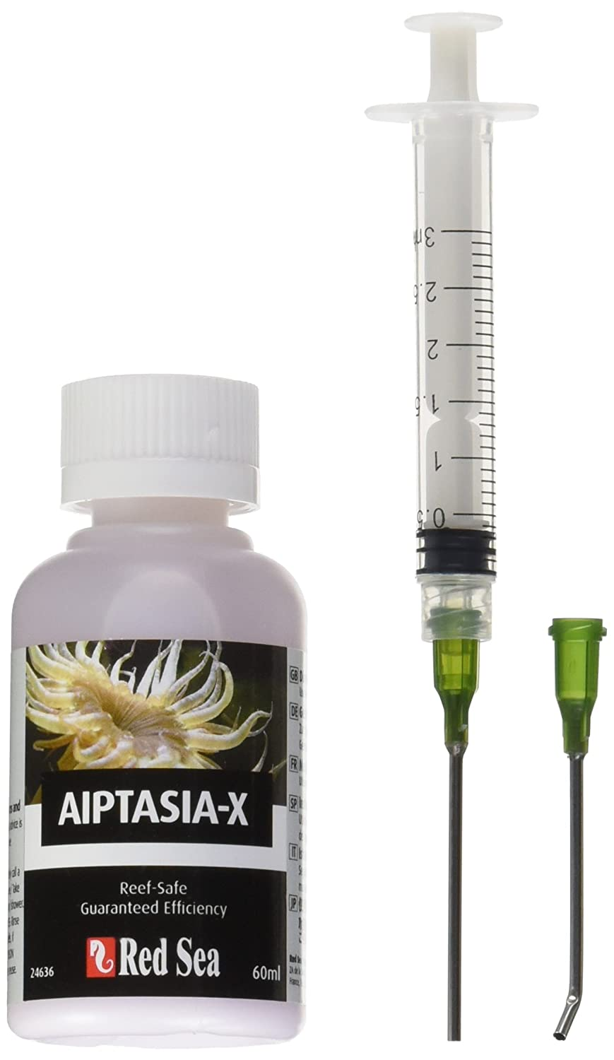 Red Sea Fish Pharm ARE22231 Aiptasia-X Eliminator Kit for Aquarium, 2.02-Ounce