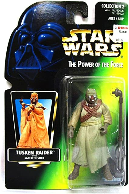 JAWAS Green Hologram STAR WARS Power of The Force Figure NICE!