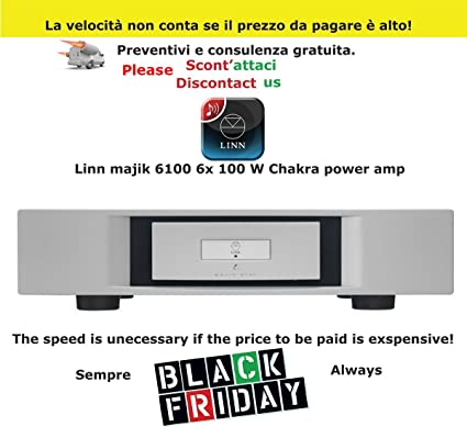 Mobili Hi Fi Design.Linn Majik 6100 6 X 100 W Charkra Power Amp Shop Amazon Co