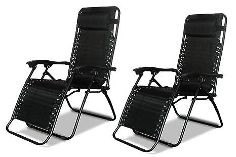 Sedia A Sdraio Tessuto : Eazilife reclinabile sedia da giardino zero gravity reclining
