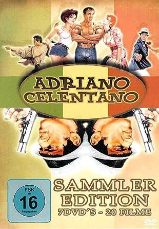 Adriano Celentano Dvd Box Mit 20 Seiner Popularsten Filme