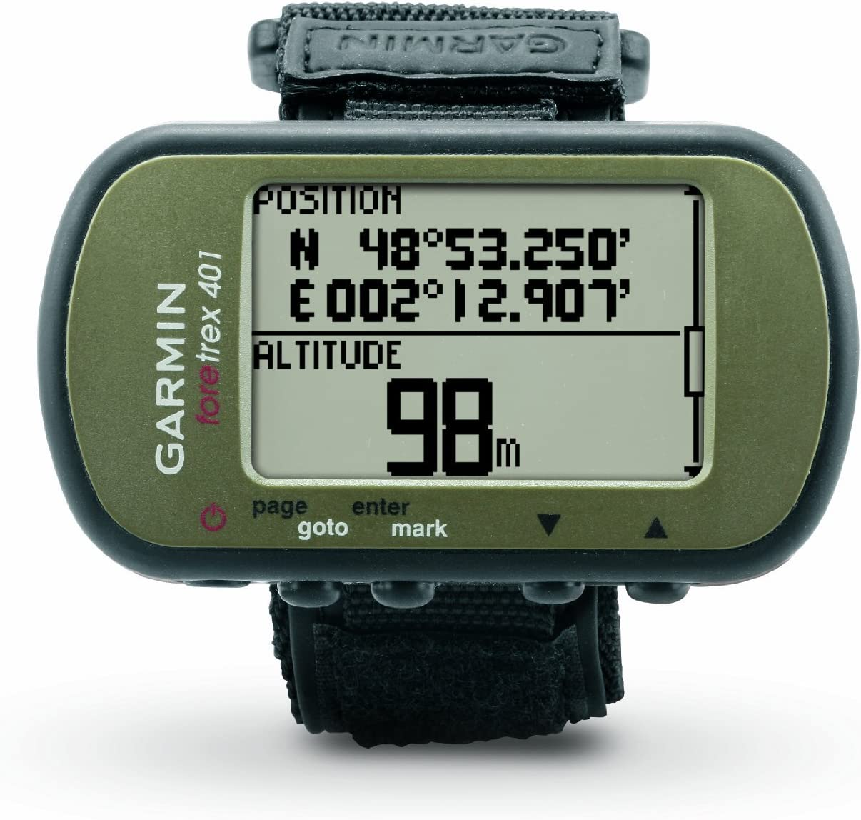 Image result for Garmin Foretrex 401 Waterproof Hiking GPS