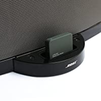LAYEN BS-1 - Bluetooth Music Receiver Adapter for the Bose SoundDock Series 1 - Stream Music Wirelessly From Your Bluetooth Transmitting Device; Smartphone, Tablet, MP3 Player, PC or Laptop to your Bose 1 Docking Station. Bring your stereo back to life!