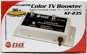 double coupon découvrir les dernières tendances sortie d'usine 36 DB Câble Antenne TV Booster de Signal Amplificateur VHF ...