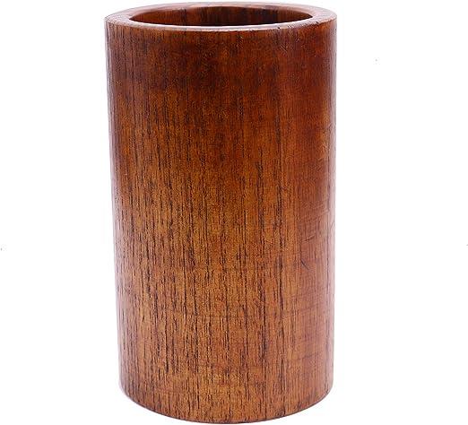 Amazon Com Monrocco Bamboo Utensil Holder Kitchen Tool Holder For