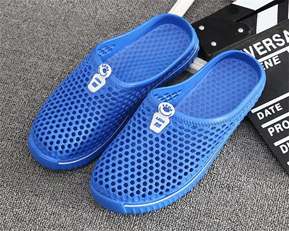 Smart.A Men's Flat Slippers Comfortable Home Non-Slip Flip Flops Home Comfortable Bathroom Slippers Male Beach Slippers B07CSHLRMC Slippers 35092d