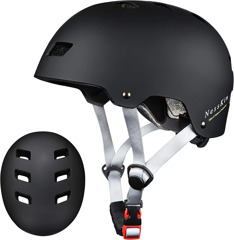 Youth Skateboard Helmet Impact Resistance Ventilation Kids Helmets Ages 8-14 for Multi-Sports Bike Skateboarding Scooter Inline Skating