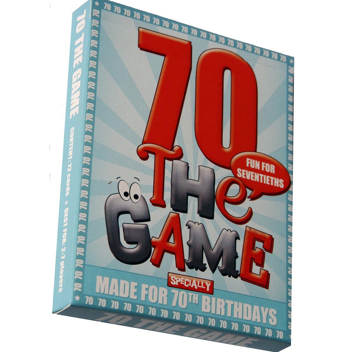 70TH BIRTHDAY GAME