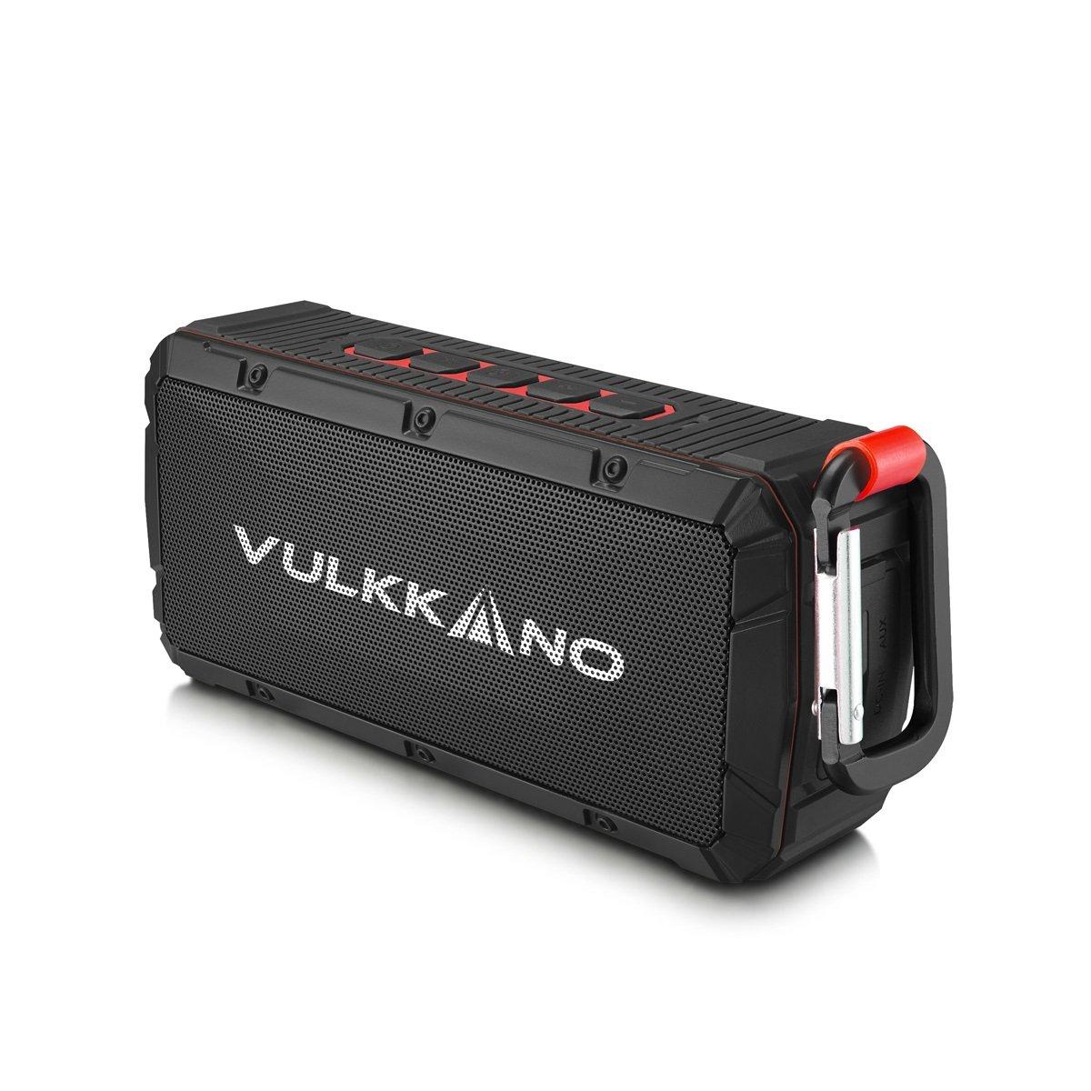 VULKKANO Bullet Altavoz Bluetooth portátil resistente agua arena y golpes W potencia