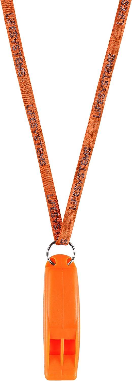 Lifesystems Safety Whistle Mixte Taille Unique Orange