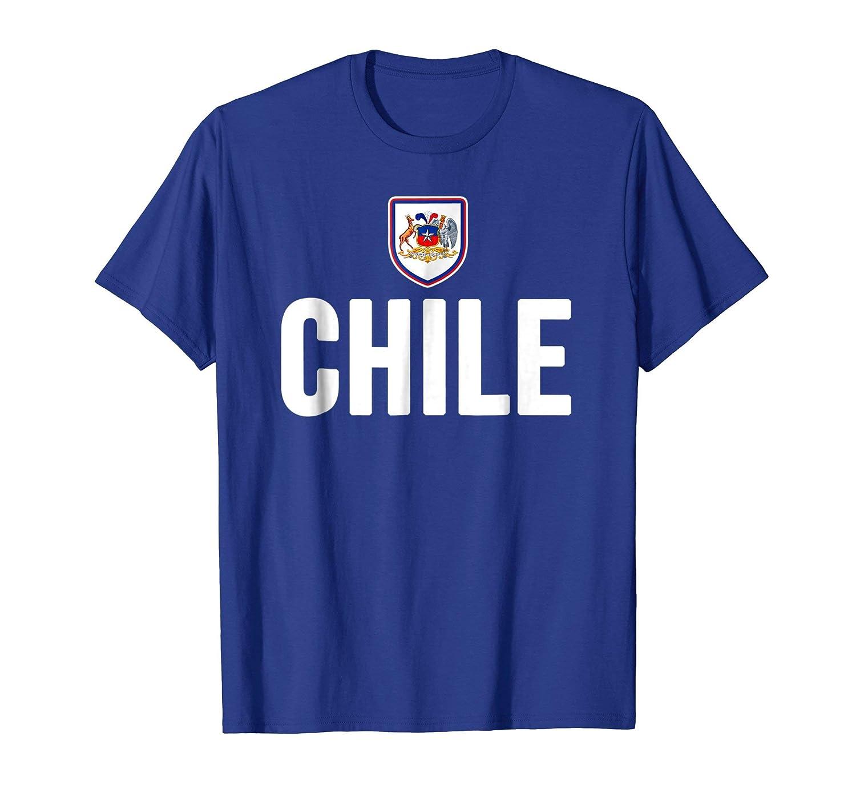 Amazon.com: Chile T-shirt Chilean Flag Soccer Futbol Fan Jersey: Clothing