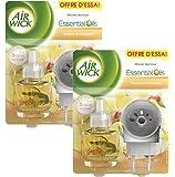 Air Wick Diffuseur Electrique Vanille & Orchidée - Lot de 2