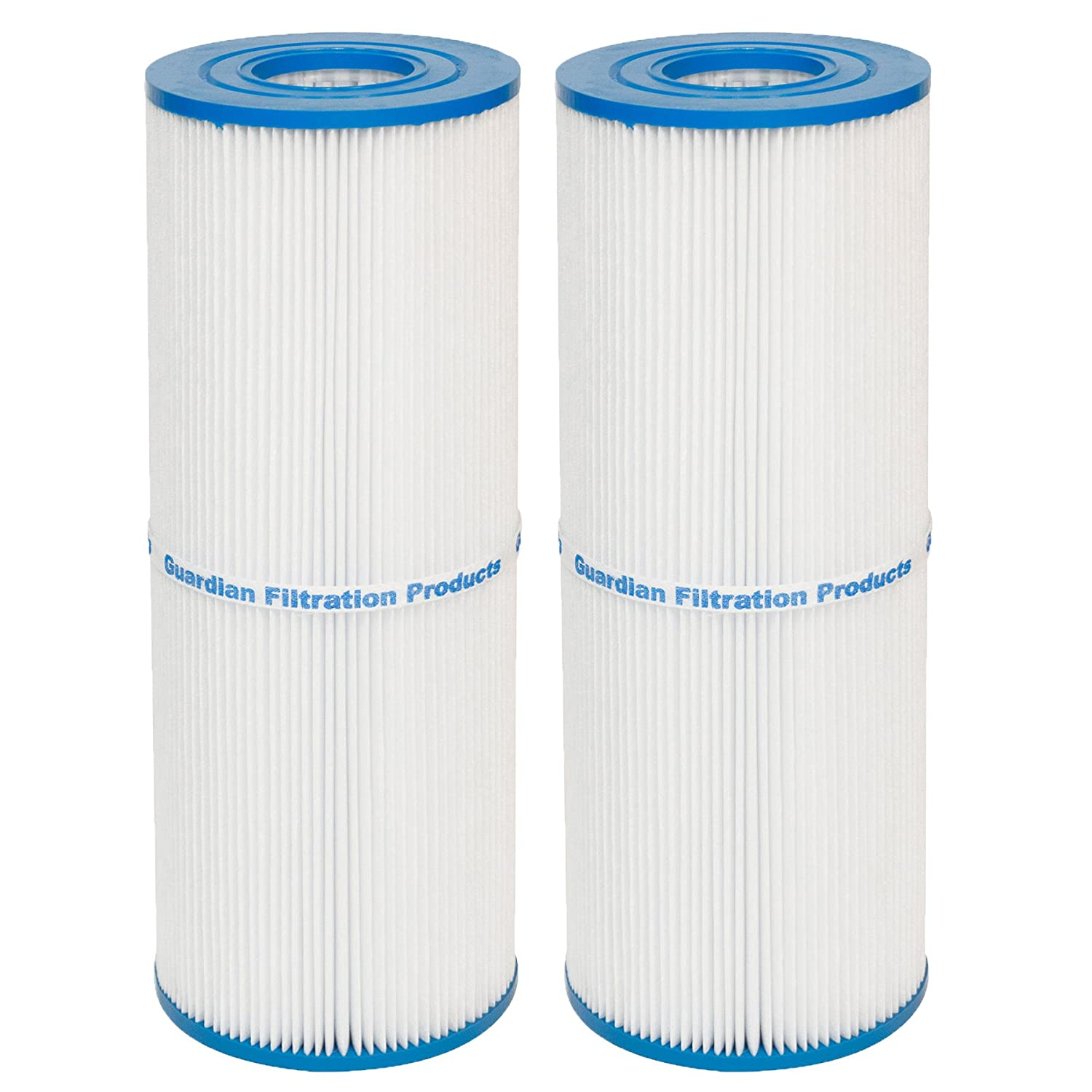 Guardian Filtration Products, Replacement Pool Spa Filter Unicel C-4326, Spa Filter FC2375, Pleatco PRB25, 2 Pack