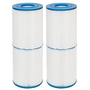Guardian Pool/Spa 2 Pack Filters - Replaces Unicel C-4326, C-4625, Filbur FC-2375, Pleatco PRB-25-25 sq. ft.