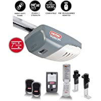 Genie ChainMax 1000 3/4 HPc Chain Drive Garage Door Opener with two 3-Button Pre-programmed Remotes, Wall Console, Wireless Keypad and Safe-T-Beam Sensor System