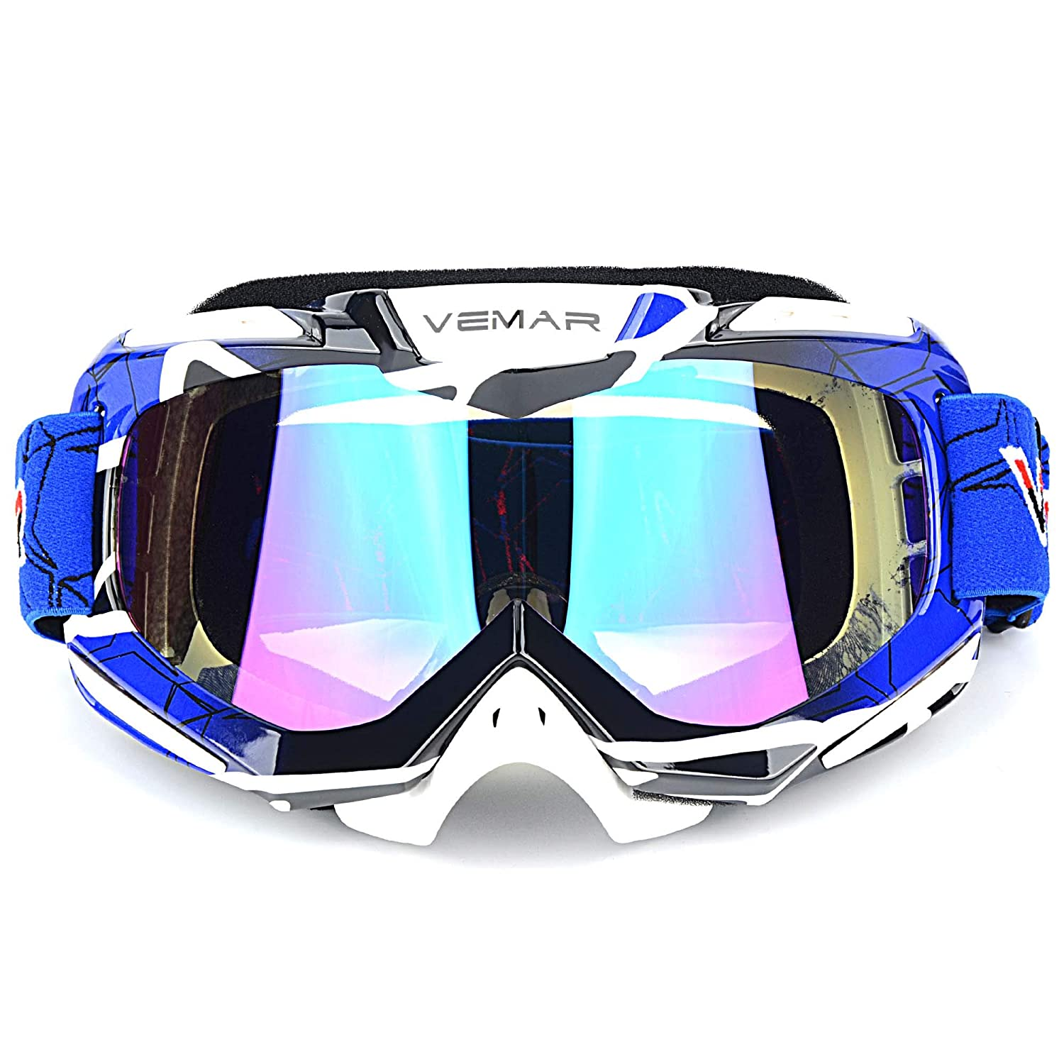 5a833257ecc Polarized Sport Motorcycle Motocross Goggles ATV Racing Goggles Dirt Bike  Tactical Riding Motorbike Goggle Glasses