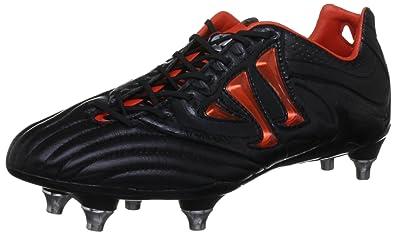7b806b72ae48 Warrior Mens Skreamer Pro K SG Football Boots SMSCKSBK Black Spicy Orange 8  UK