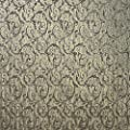 high end paste the wall only Embossed Slavyanski premium modern wallcoverings rolls victorian damask pattern Vinyl Non-Woven patterned Wallpaper gold metallic textured silver glitters 3D vintage style
