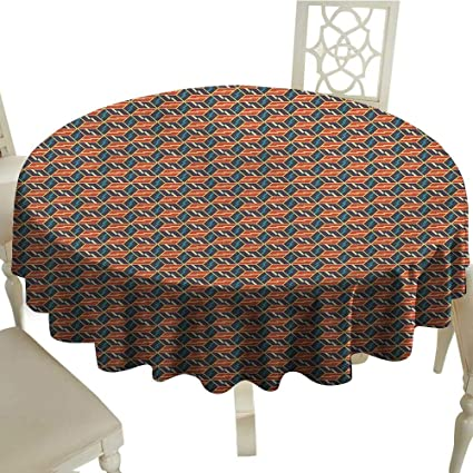 Pleasing Amazon Com Abstract Dinner Picnic Table Cloth Rhombuses Interior Design Ideas Gentotthenellocom