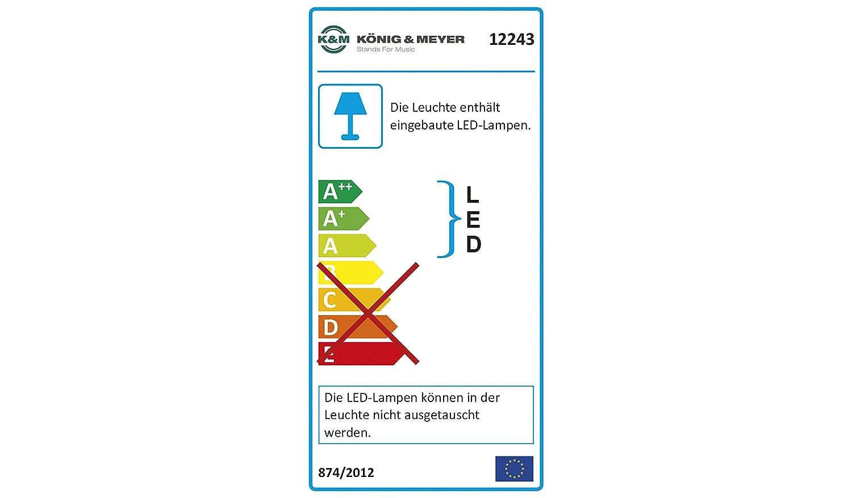 K /& M 12243 000 55/Double Flex LED lumi/ère