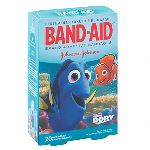 Finding Dory Bandages - First-Aid Kit Supplies - 20 per Pack