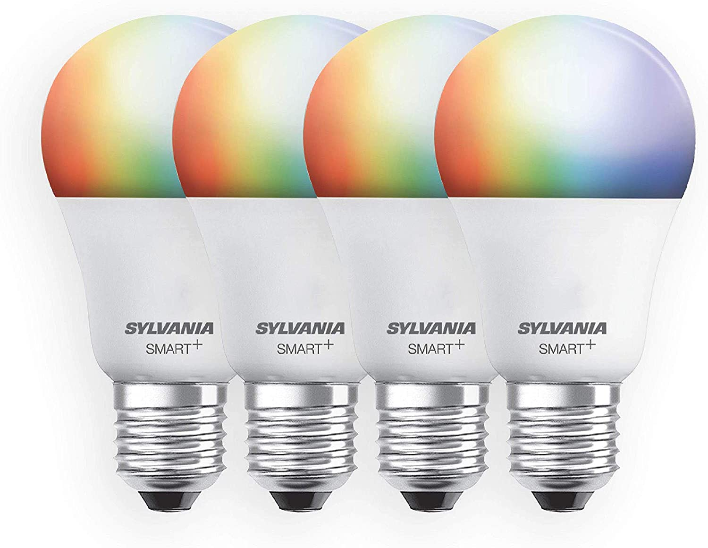 Best for Longest Lasting Light Bulb: Sylvania full-colour Dimmable A19 LED Light Bulb