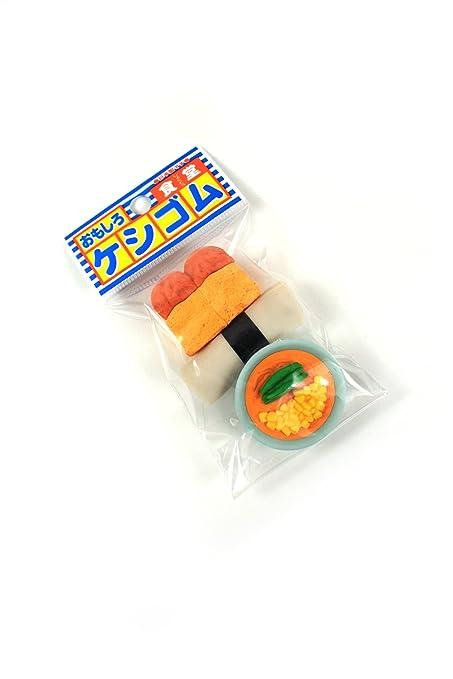 Iwako japonesa de colección Borradores Pan Sushi Sopa 3 Pack