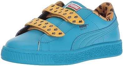 PUMA | Sesame Street Basket Cookie Monster Sneaker (Little