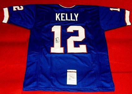 9c73da01003 JIM KELLY AUTOGRAPHED BUFFALO BILLS JERSEY JSA at Amazon s Sports ...