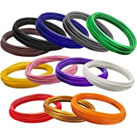 OVERTURE 3D Pen PLA Filament Refills,12 Colors, Each Color 10 Feet, Total 120 feet, 1.75mm, Smooth Printing Refills for…