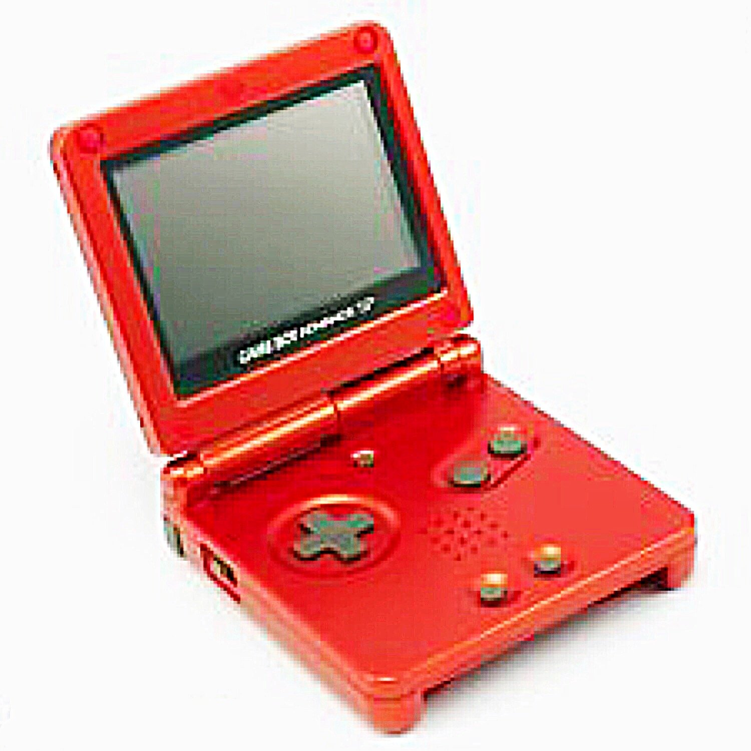 Amazon.com: Nintendo Game Boy Advance SP Console - Flame Red: Video Games