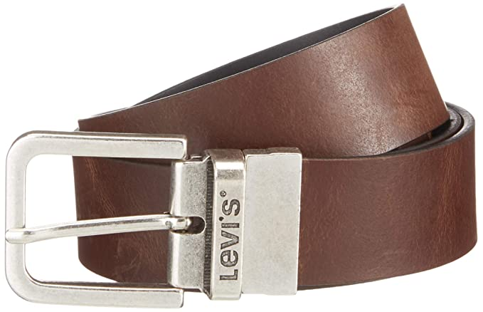 bda3ce185636 LEVIS FOOTWEAR AND ACCESSORIES Reversible Core, Ceinture Homme, Marron  (Brown), FR