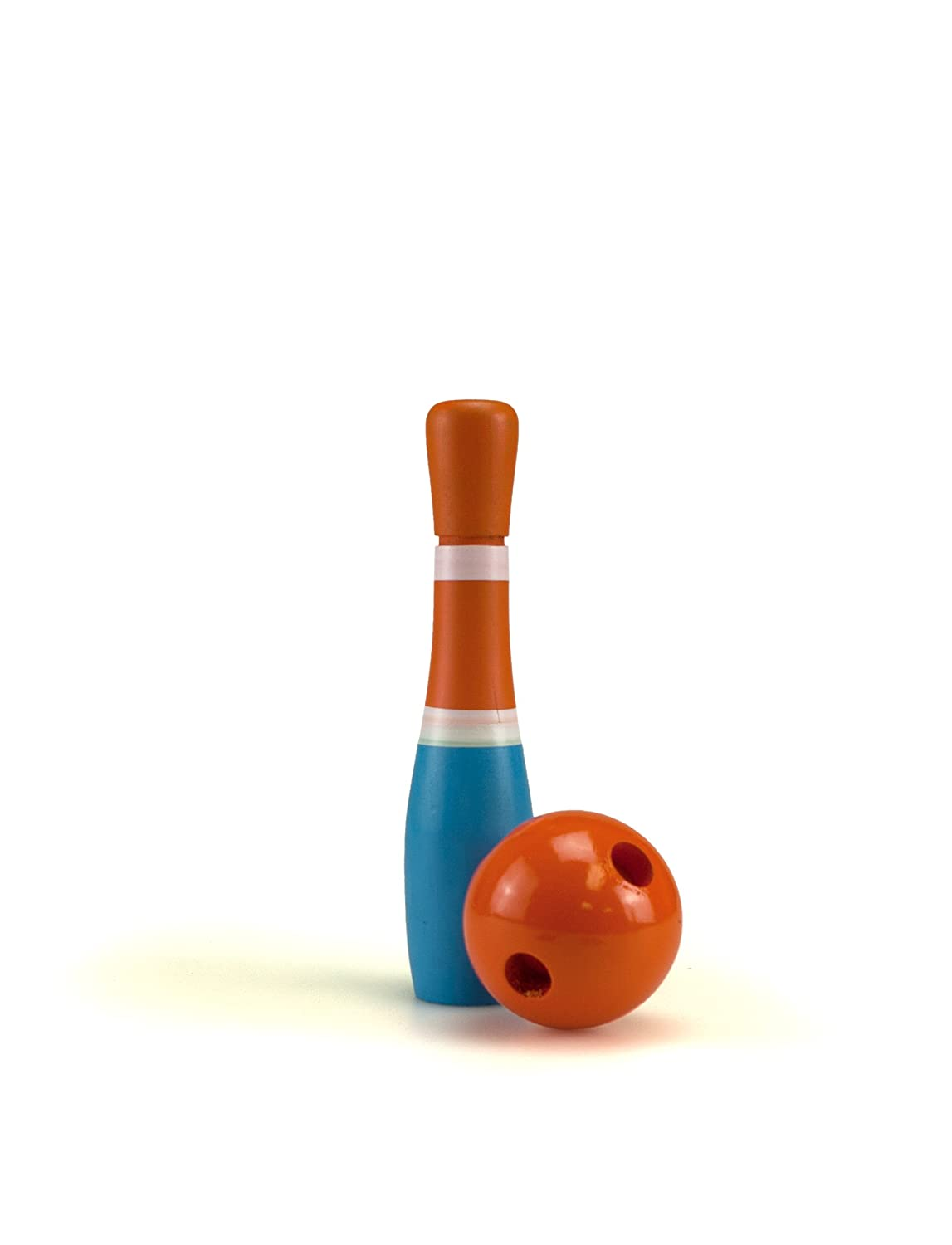 amazon com sterling sports wooden lawn bowling skittles set