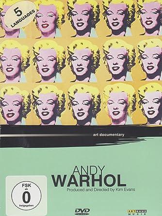 Andy Warhol Art Documentary Amazonde Andy Warhol Kim Evans