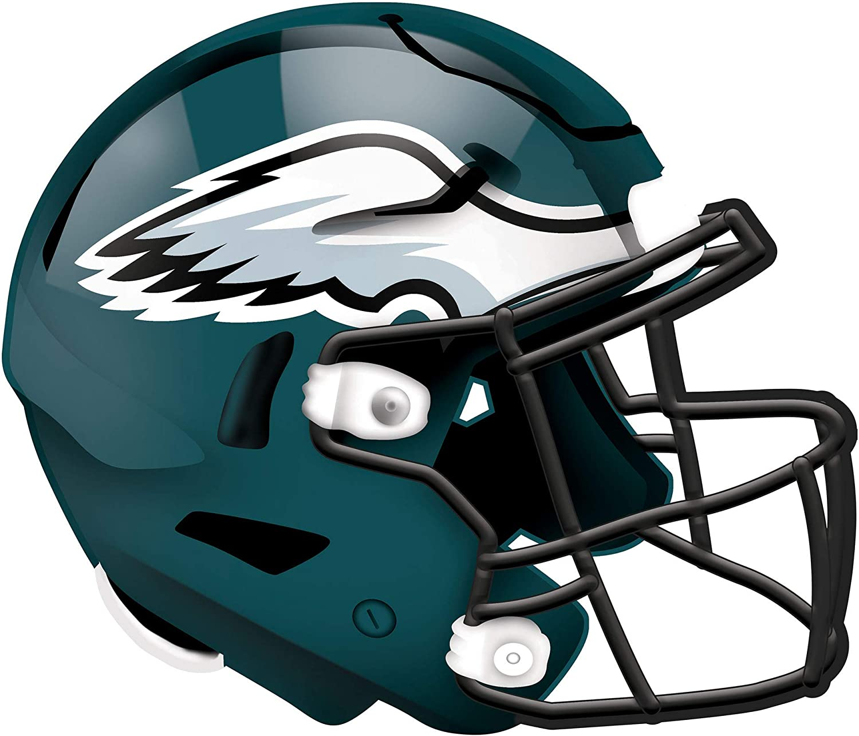 Fan Creations NFL Philadelphia Eagles Unisex Philadelphia Eagles Authentic Helmet, Team Color, 12 inch