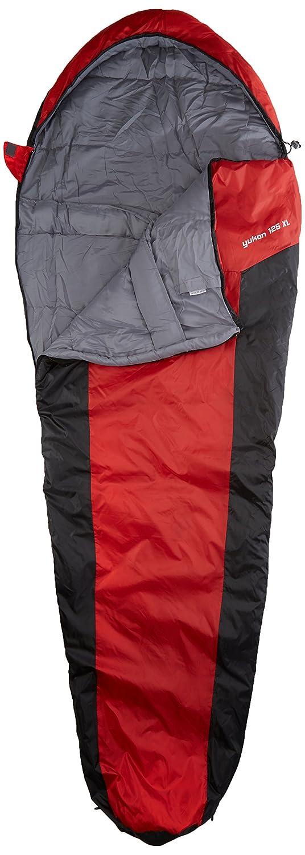10T Outdoor Equipment 10T Yukon 125XL Saco de dormir de la momia, Negro, Estándar: Amazon.es: Deportes y aire libre
