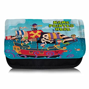 Personalizado Barco Pirata ST836 estuche escolar/Neceser de ...